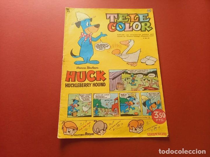 TELE COLOR Nº 26 - BRUGUERA (Tebeos y Comics - Bruguera - Tele Color)
