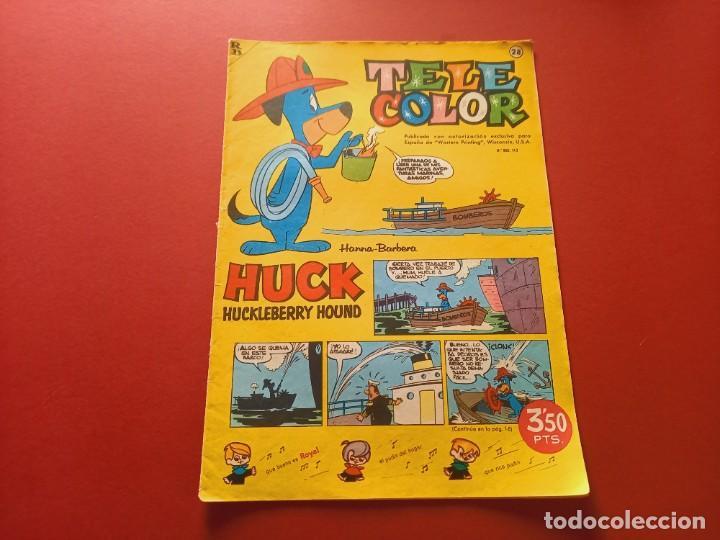 TELE COLOR Nº 28 - BRUGUERA (Tebeos y Comics - Bruguera - Tele Color)