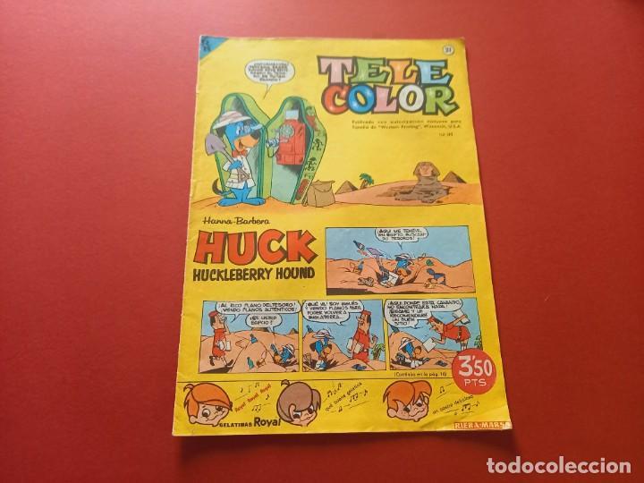 TELE COLOR Nº 31 - BRUGUERA (Tebeos y Comics - Bruguera - Tele Color)