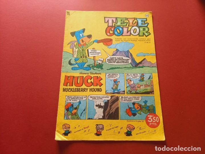 TELE COLOR Nº 55 - BRUGUERA (Tebeos y Comics - Bruguera - Tele Color)