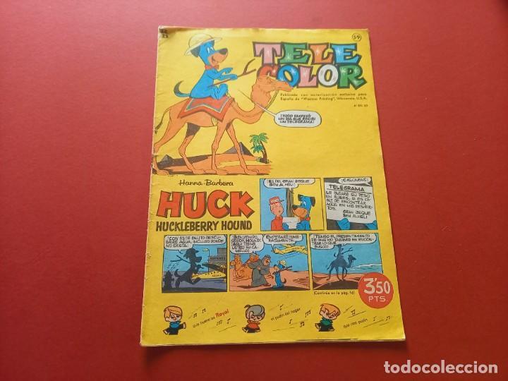 TELE COLOR Nº 59 - BRUGUERA (Tebeos y Comics - Bruguera - Tele Color)