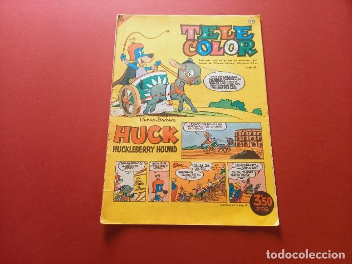 TELE COLOR Nº 75 - BRUGUERA (Tebeos y Comics - Bruguera - Tele Color)