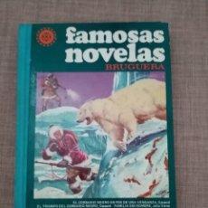 Tebeos: FAMOSAS NOVELAS BRUGUERA TOMO XV 1ª EDICIÓN AÑO 1978. Lote 264428579