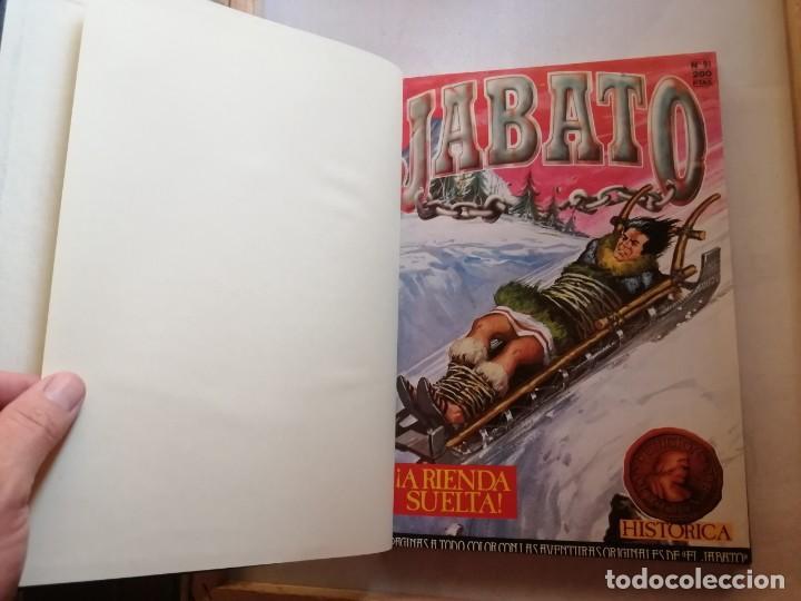 Tebeos: TOMO 10 DE EL JABATO NÚMEROS DEL 91 AL 100. - Foto 8 - 264974979