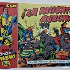 Tebeos: COMIC - EL CAPITAN TRUENO Nº 23- LA MUERTE ACECHA - BRUGUERA 1956 - ORIGINAL -. Lote 265372289