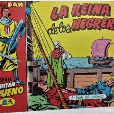 Tebeos: COMIC - EL CAPITAN TRUENO Nº 46- LA REINA DE LOS NEGREROS - BRUGUERA 1956 - ORIGINAL -. Lote 265372709