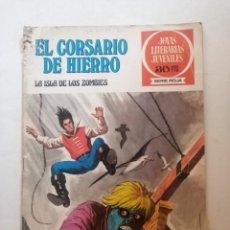 Tebeos: EL CORSARIO DE HIERRO.LA ISLA DE LOS ZOMBIES. Nº 35.. Lote 265375704