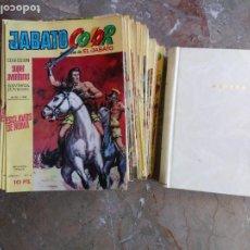 Tebeos: JABATO COLOR COLECCIÓN COMPLETA 212 TEBEOS ORIGINALES (1ª Y 2ª ÉPOCA) BRUGUERA. Lote 265497069