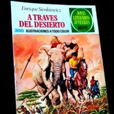 Tebeos: CASI EXCELENTE ESTADO JOYAS LITERARIAS JUVENILES 22 BRUGUERA COMICS. Lote 265688449