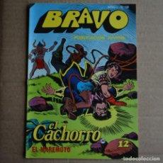 Tebeos: BRAVO Nº 39. EL CACHORRO 20. BRUGUERA 1976. LITERACOMIC.. Lote 265710549
