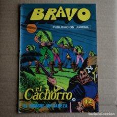 Tebeos: BRAVO Nº 37. EL CACHORRO 19. BRUGUERA 1976. LITERACOMIC.. Lote 265710794