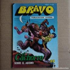Tebeos: BRAVO Nº 25. EL CACHORRO 13. BRUGUERA 1976. LITERACOMIC.. Lote 265892533