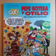 Tebeos: COMIC DE OLE PEPE GOTERA Y OTILIO DOS CURRANTES DELIRANTES DEL AÑO 1999 Nº 13. Lote 265904688