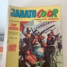 Tebeos: JABATO COLOR AÑO VII Nº 02 EDITORIAL BRUGUERA. Lote 265930913