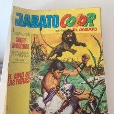 Tebeos: JABATO COLOR AÑO VII Nº 07 EDITORIAL BRUGUERA. Lote 265931213