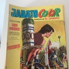 Tebeos: JABATO COLOR AÑO VII Nº 8 EDITORIAL BRUGUERA. Lote 265931278
