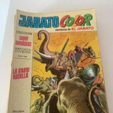 Tebeos: JABATO COLOR AÑO VII Nº 10 EDITORIAL BRUGUERA. Lote 265931633