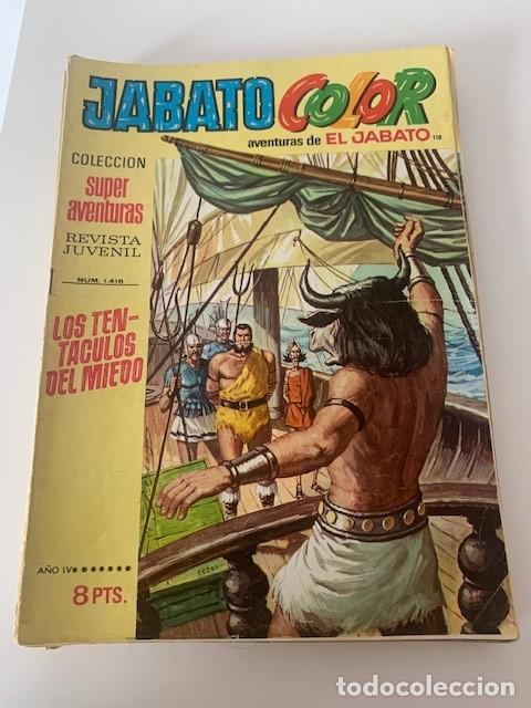 JABATO COLOR AÑO IV Nº 118 EDITORIAL BRUGUERA (Tebeos y Comics - Bruguera - Jabato)