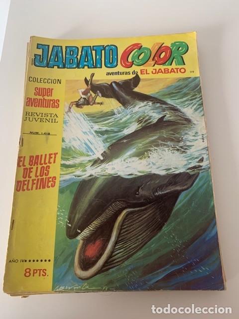 JABATO COLOR AÑO VI Nº 119 EDITORIAL BRUGUERA (Tebeos y Comics - Bruguera - Jabato)