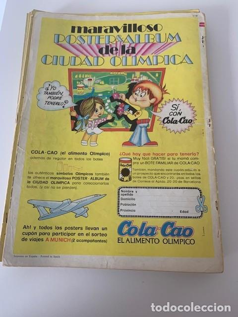 Tebeos: Jabato Color Año VI Nº 119 Editorial Bruguera - Foto 3 - 265934548