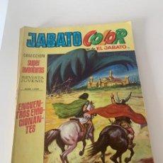 Tebeos: JABATO COLOR AÑO VI Nº 121 EDITORIAL BRUGUERA. Lote 265934668