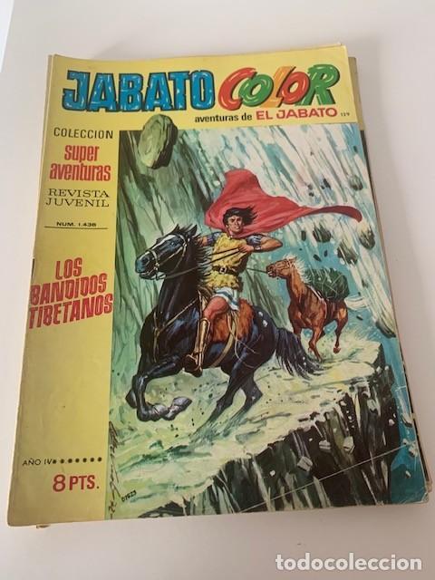 JABATO COLOR AÑO IV Nº 129 EDITORIAL BRUGUERA (Tebeos y Comics - Bruguera - Jabato)