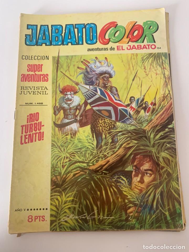 JABATO COLOR AÑO V Nº 154 EDITORIAL BRUGUERA (Tebeos y Comics - Bruguera - Jabato)