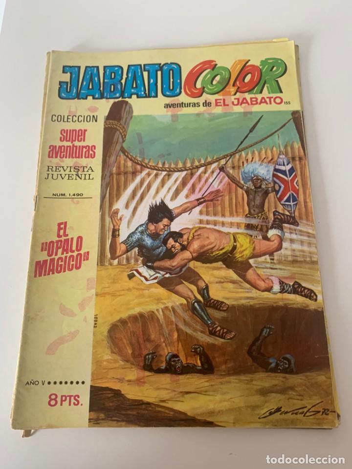 JABATO COLOR AÑO V Nº 155 EDITORIAL BRUGUERA (Tebeos y Comics - Bruguera - Jabato)