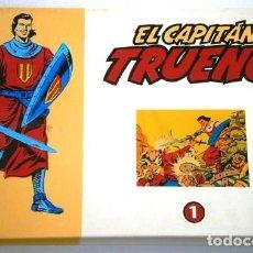 Tebeos: EL CAPITÁN TRUENO TOMO 1-32 / REEDICIÓN FACSÍMIL EL PERIÓDICO COLECCIÓN DAN / BARCELONA 1958-1998. Lote 266015658