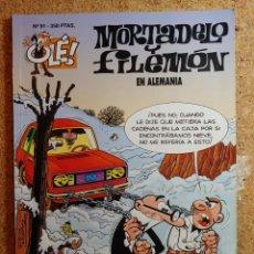 Livros de Banda Desenhada: COMIC DE OLE MORTADELO Y FILEMÓN EN ALEMANIA DEL AÑO 1994 Nº 91. Lote 266109123