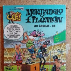 Livros de Banda Desenhada: COMIC DE OLE MORTADELO Y FILEMÓN EN LOS ÁNGELES - 84 DEL AÑO 1993 Nº 13. Lote 266111223
