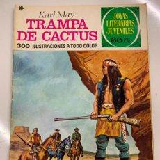 Tebeos: TRAMPA DE CACTUS - JOYAS LITERARIAS JUVENILES, 30 PTS, 1978, BRUGUERA. Lote 266121873