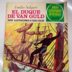 Tebeos: EL DUQUE DE VAN GULD - JOYAS LITERARIAS JUVENILES, 20 PTS, 1974, BRUGUERA. Lote 266123298