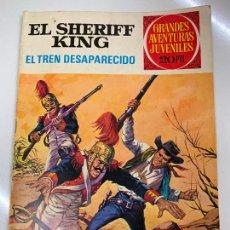Tebeos: EL SHERIFF KING - JOYAS LITERARIAS JUVENILES, 20 PTS, 1975, BRUGUERA. Lote 266123588