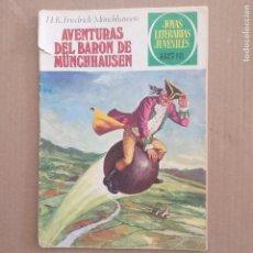 Tebeos: AVENTURAS DEL BARON DE MUNCHHAUSEN. FRIEDRICK MUNCHHAUSEN. JOYAS LITERARIAS JUVENILES NUM 146. SEGUN. Lote 266369068