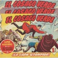 Tebeos: ARCHIVO * EL COSACO VERDE * ED. BRUGUERA * ORIGINALES 1960-1963 * Nº 63, 95, 143, *. Lote 266440228
