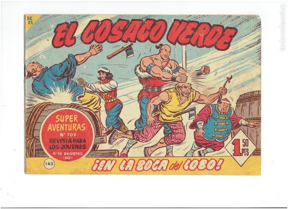 Tebeos: Archivo * EL COSACO VERDE * ED. BRUGUERA * ORIGINALES 1960-1963 * Nº 63, 95, 143, * - Foto 4 - 266440228
