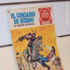 Tebeos: JOYAS LITERARIAS JUVENILES SERIE ROJA EL CORSARIO DE HIERRO Nº 52 LA FRAGATA MISTERIOSA - BRUGUERA. Lote 266771914