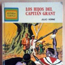Tebeos: LOS HIJOS DEL CAPITÁN GRANT (JULIO VERNE) HISTORIAS FAMOSAS Nº 7 - BRUGUERA 1ª EDICION 1973. Lote 266816614