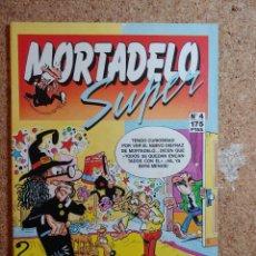 Tebeos: TEBEO DE SUPER MORTADELO DEL AÑO 1987 Nº 4. Lote 266874539