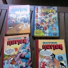 Tebeos: LOTE 4 SUPER HUMOR MORADELO Y FILEMON. Lote 266876934