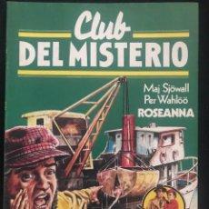 Tebeos: REVISTA - CLUB DEL MISTERIO #55 - MAJ SJOWALL - PER WAHLLO - ROSEANNA - BRUGUERA - 1982. Lote 266878764