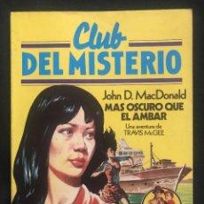Tebeos: REVISTA - CLUB DEL MISTERIO #57 - JOHN D. MACDONALD - MAS OSCURO QUE EL AMBAR - BRUGUERA - 1982. Lote 266879629