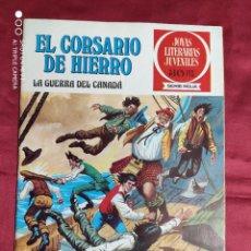 Tebeos: JOYAS LITERARIAS JUVENILES. EL CORSARIO DE HIERRO. Nº 29. BRUGUERA 1978. 1ª EDICION. Lote 266909819