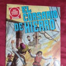 Tebeos: JOYAS LITERARIAS JUVENILES. EL CORSARIO DE HIERRO. Nº 2. BRUGUERA 1980. 2ª EDICION. Lote 266912389