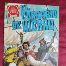 Tebeos: JOYAS LITERARIAS JUVENILES. EL CORSARIO DE HIERRO. Nº 3. BRUGUERA 1980. 2ª EDICION. Lote 266912869