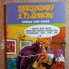 Tebeos: COMIC DE MORTADELO Y FILEMÓN EN ARMAS CON BICHO. Lote 266926349