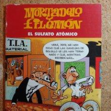 Tebeos: COMIC DE MORTADELO Y FILEMÓN EN EL SULFATO ATOMICO. Lote 266926579