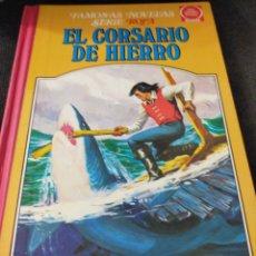 Tebeos: EL CORSARIO DE HIERRO TOMO IV SERIE ROJA TAPA DURA BRUGUERA. Lote 266937839