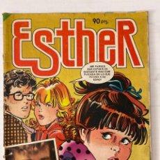 Tebeos: ESTHER #74 «INFRECUENTE» BRUGUERA 1984 EN BUEN ESTADO SIN POSTER. Lote 266954684